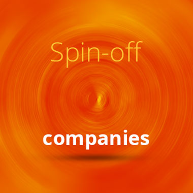 Spin-off companies