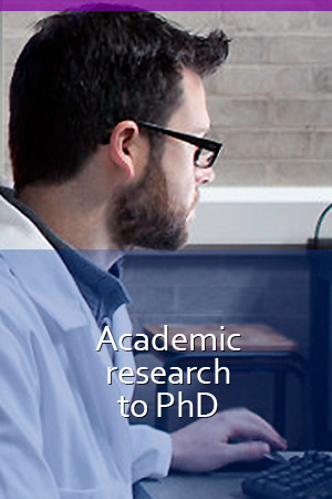 Academic Research to PhD