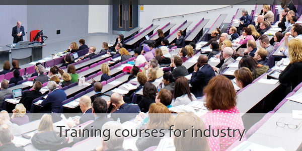 Training courses for industry