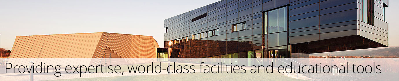 Providing expertise and world-class facilities.