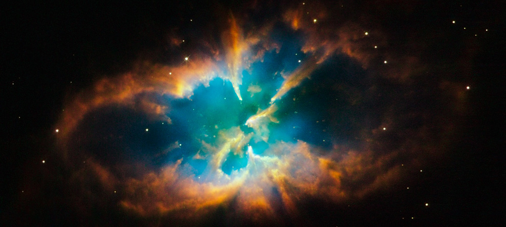 The Hubble Space Telescope has imaged striking details of the famed planetary nebula designated NGC 2818.
