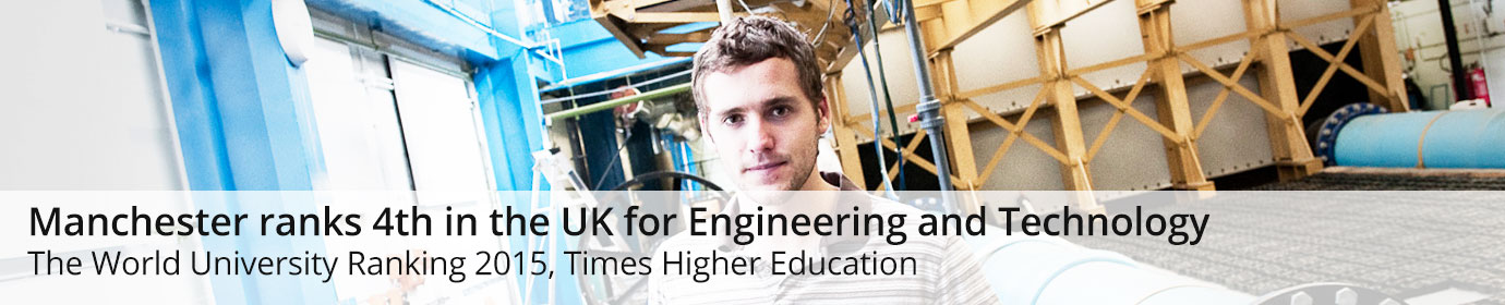 Manchester ranks 4rd in the UK in Engineering and Technology - Shanghai Jiao Tong University 2012
