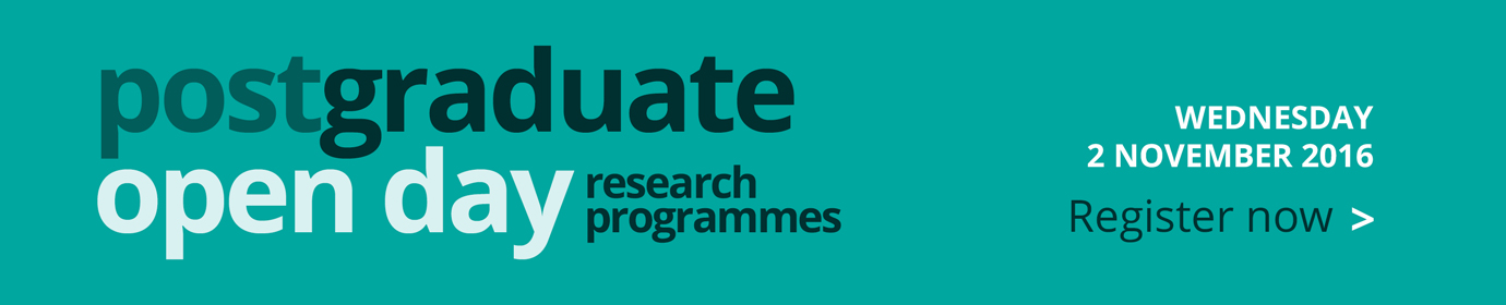 Postgraduate Research Open Day