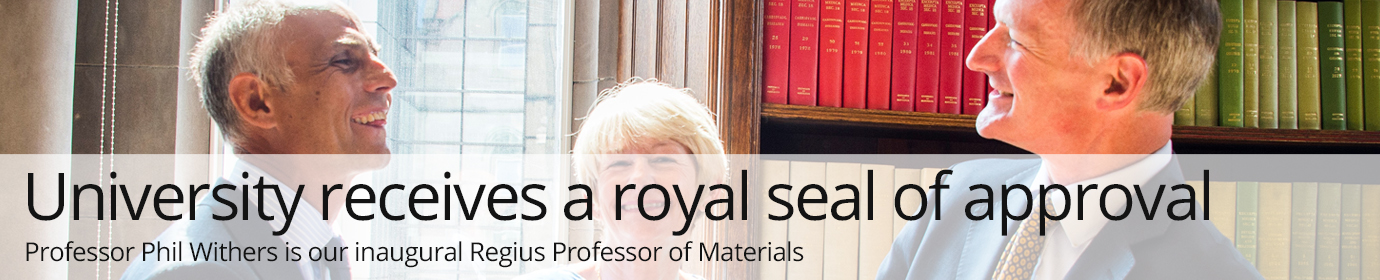 University receives a royal seal of approval from the Queen