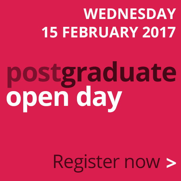 School of Maths Postgraduate Open Day - 15 February 2017.