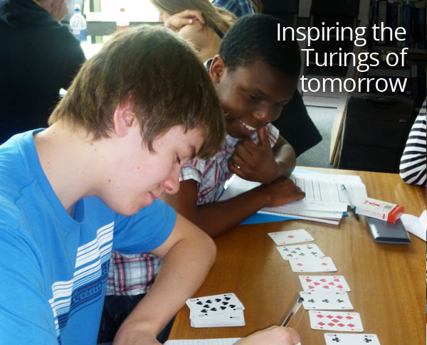 Inspiring the Turings of tomorrow