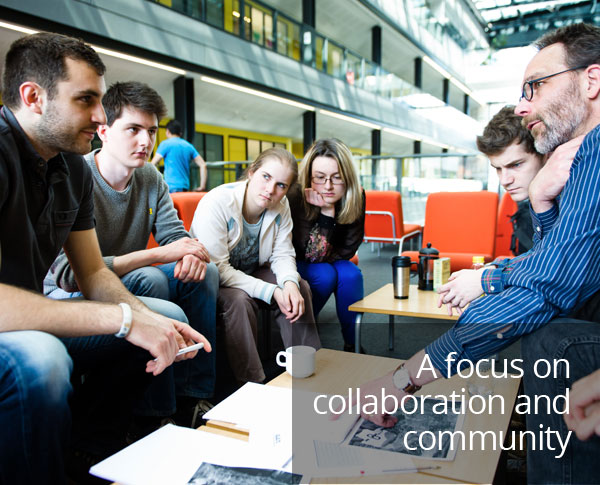 A focus on collaboration and community