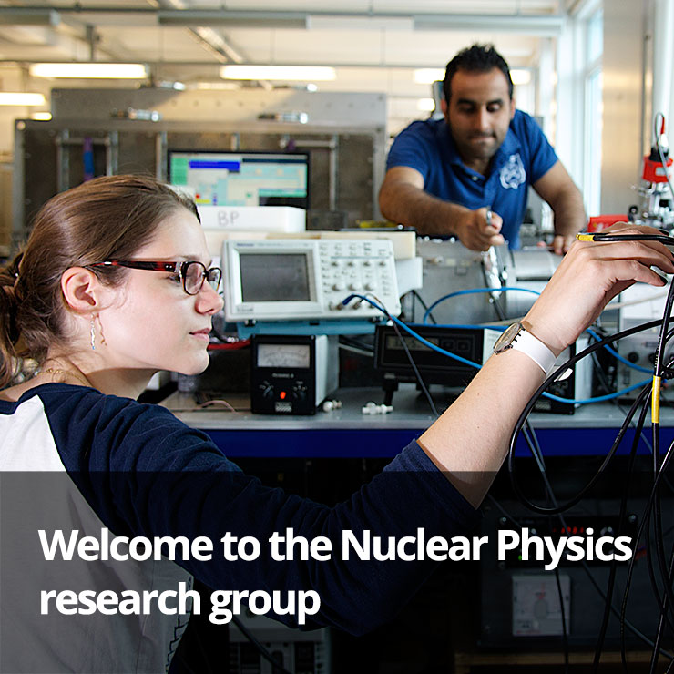 Welcome to the Nuclear Physics research group