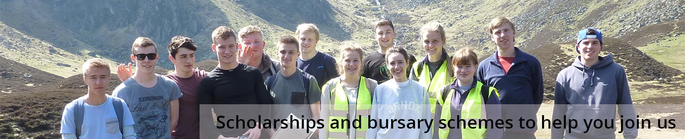 Scholarships and bursary schemes to help you join us