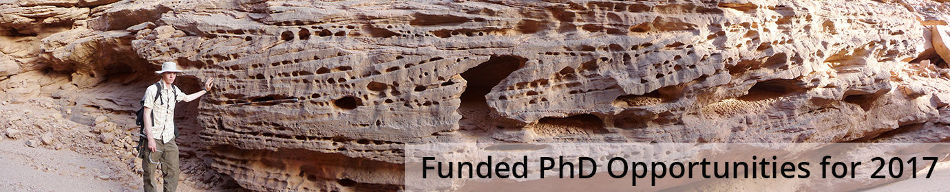Funded PhD Opportunities for 2017