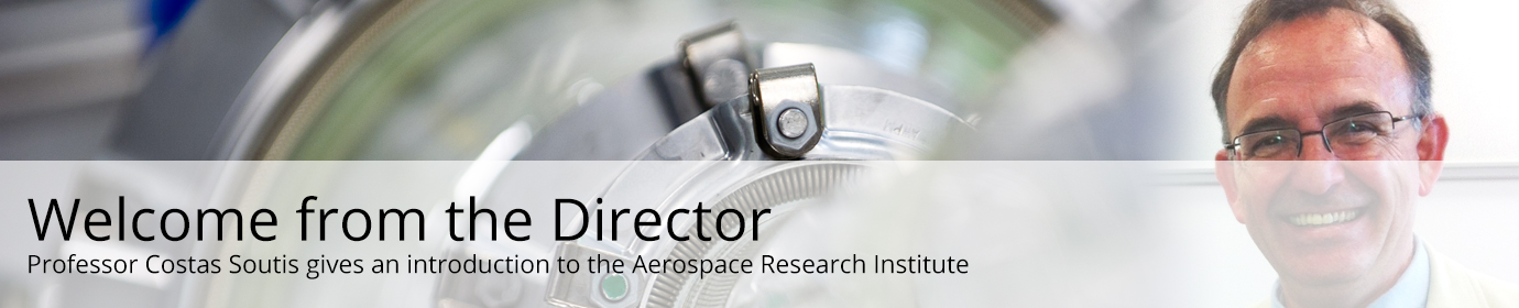 Professor Costas Soutis gives an introduction to the Aerospace Research Institute